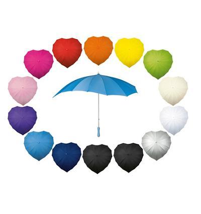 Paraplu hartvormig