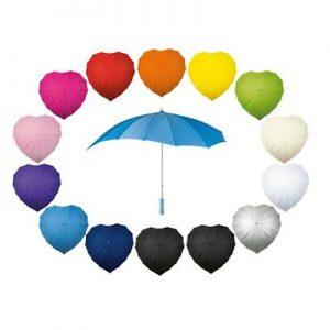 Paraplu hartvormig-0