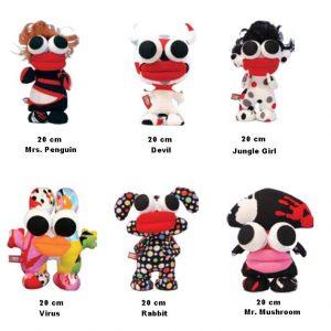Crazy Dolls 20 cm-0