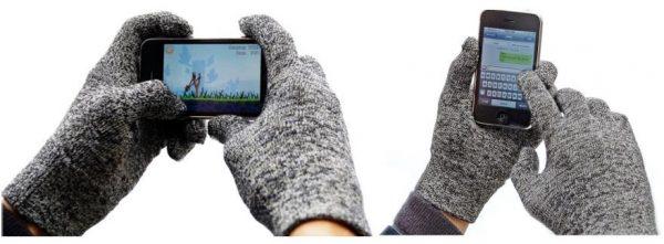 twitter + handschoen = twandschoen handschoen voor telefoon maat M + L + XL-0
