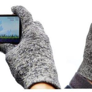 twitter + handschoen = twandschoen handschoen voor telefoon maat S + M + L-0