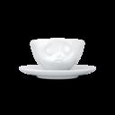 Espresso kop en schotel kus-0