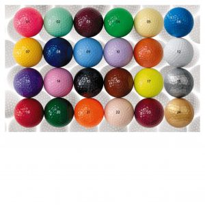 1910 2-piece Colored Golf Balls