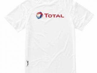 Slazenger hardloop shirt voorzien van logo's