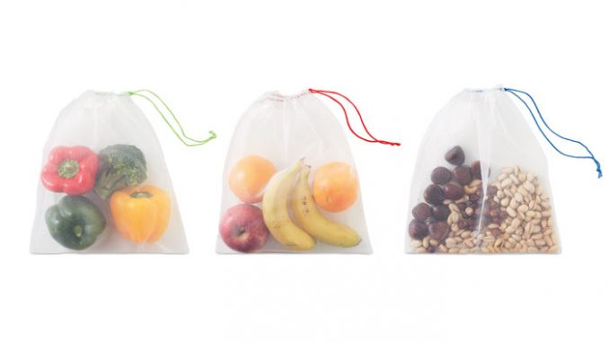 PET groente en fruit tasje