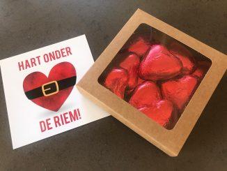 hart onder de riem pakketje