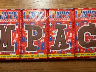 USP in chocolade letters